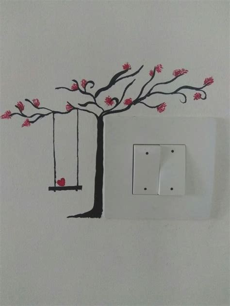 switchboard art home decor   diy wall painting