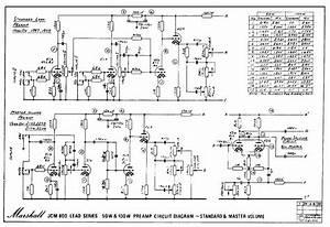 Marshall St  Ard Schematics  U2013 Amp Archives