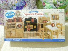sylvanian families country kitchen set sylvanian families regency hotel calico critters 8421