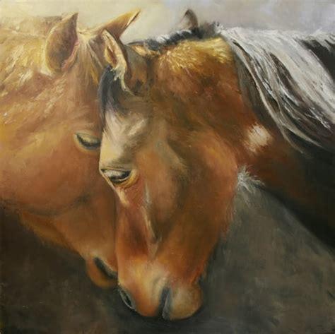 Horse Portrait Paintings Creative Chateau Event Venue