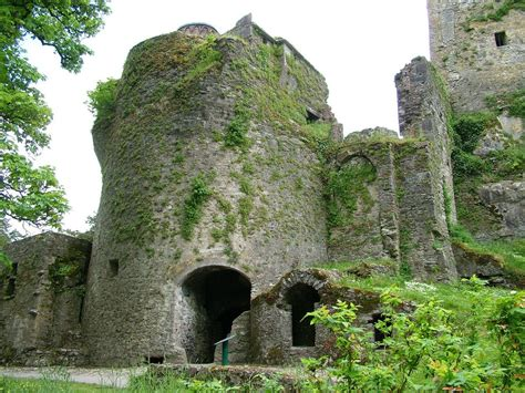 Kissing The Blarney Stone At Blarney Castle