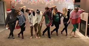These 8 Siblings Dancing In Mom's Ugly Christmas Sweaters ...