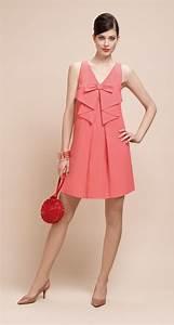 paule ka a line dress with v neck non removable With robes paule ka