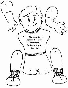 Body Coloring Page. Body Parts Coloring Page Istruzione ...