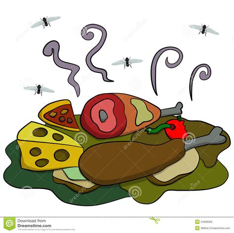fly cuisines flies on food clipart pixshark com images