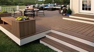 Terrasse En Composite : terrasse composite madrier nos conseils ~ Melissatoandfro.com Idées de Décoration