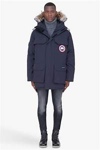 Canada Goose Navy Coyote Fur Hood Expedition Parka In Blue For Men Lyst