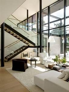 Salas Modernas Dise U00f1adas Con Doble Altura