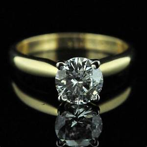 100ct diamond engagement ring miltons diamonds With 2nd hand wedding rings