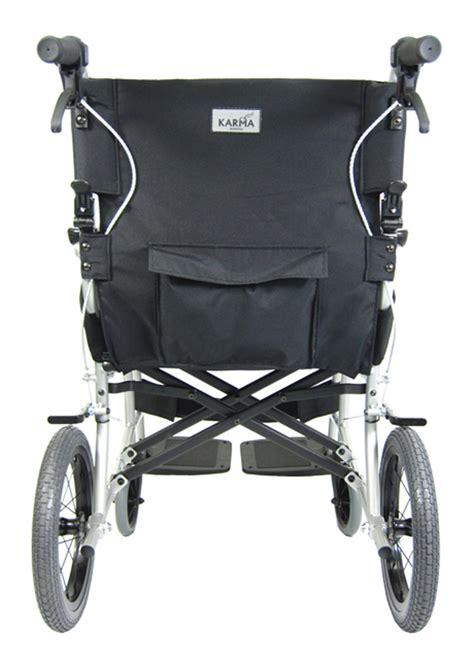 karman ergo lite wheelchair  lbs ultralight transport