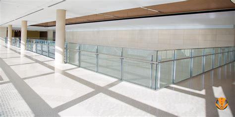 indoor balcony glass railing