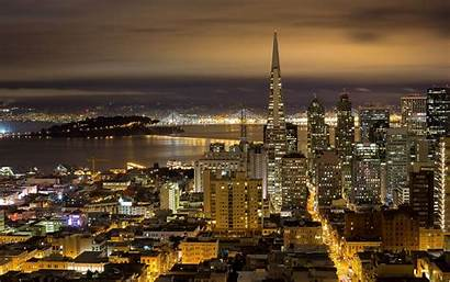 Francisco San Night Background