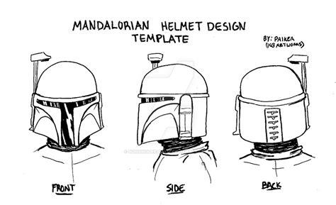 mandalorian armor template mandalorian helmet design template 2 by burningdreams76 on deviantart