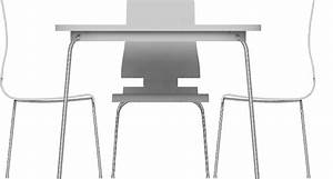 CAD And BIM Object Grimle Table And 5 Chairs IKEA