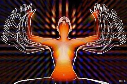 Meditation Yoga Gifs 3d Giphy Uwe Heine