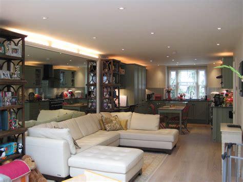interior design lighting and a bespoke kitchen richmond