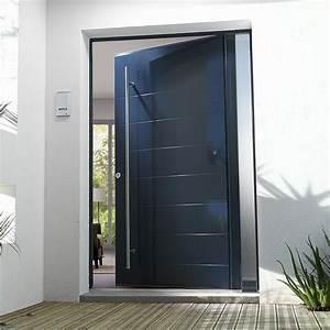 Barre De Sécurité Porte D Entrée : porte d 39 entr e aluminium bel 39 m pose concept ~ Edinachiropracticcenter.com Idées de Décoration