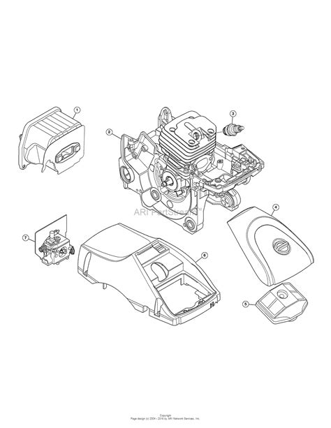 mtd ays  parts diagram  engine assembly
