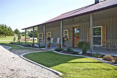 David's 42 X 60 Metal Building Home W/ Side Porches (hq
