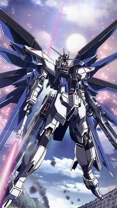 Gundam Android Freedom Anime Androidhdwallpapers Garbage Collector