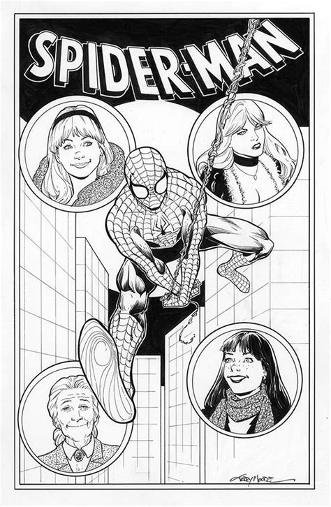 Spider-Man and his special ladies by Terry Moore | Comic