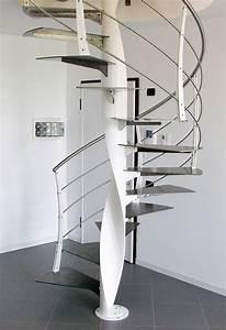 Escalier En Colimaçon : escalier en colima on curve vente escaliers h lico daux ~ Mglfilm.com Idées de Décoration