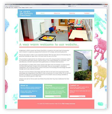 le jardin preschool guernsey website web design guernsey 894   jardin web design 1