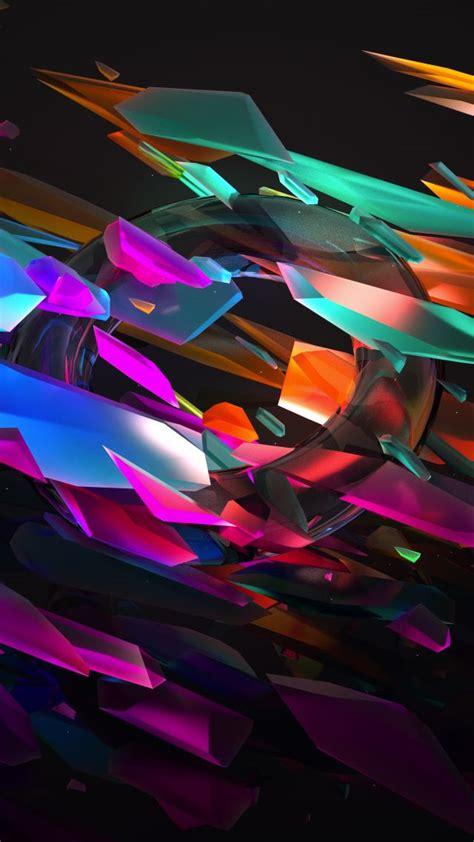 Wallpaper 3d, Glass, 5k, Os #16368