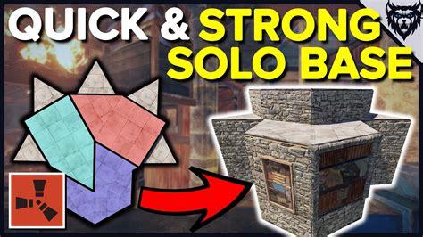 rust base solo easy building