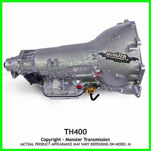 Turbo 400 Th400 Transmission 4 U0026quot  Tail  Rebuilt Th400