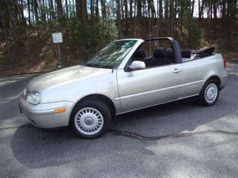 volkswagen convertible 2000 find used 2000 vw cabrio convertible all power drives