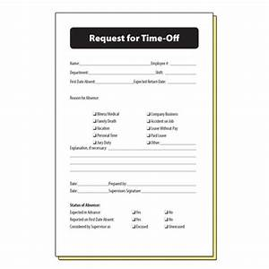 Employee Request Time f Form