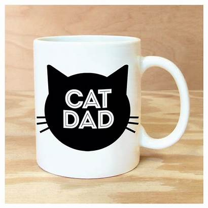 Cat Dad Mug Mugs