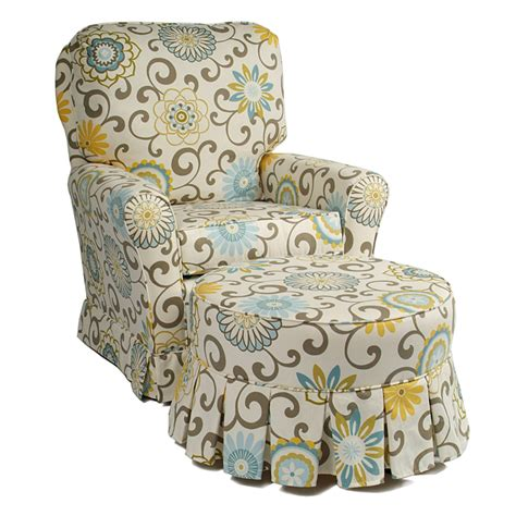 Savvy Upholstered Glider And Ottoman By Castle by Hassock Ottoman By Castle Rosenberryrooms