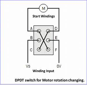 Installing Reversing Switch On 115 Volt Motor