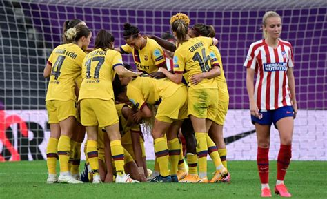 CRÓNICA | Cuartos UWCL | At. Madrid vs FC Barcelona ...