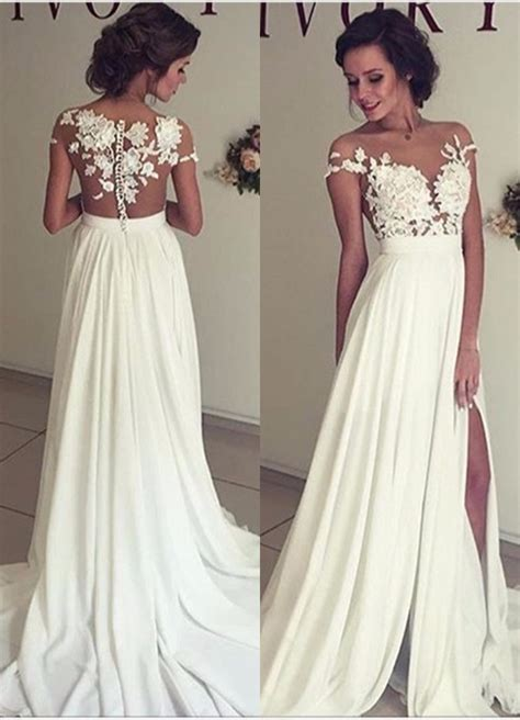 Elegant Lace Appliques 2017 Wedding Dress Long Chiffon. Wedding Dresses Fitted A Line. Vintage Inspired Wedding Dresses Tea Length. Most Beautiful Wedding Guest Dresses. Beach Wedding Dresses For 50 Year Old. Black Wedding Dress Garment Bag. Gold Monique Lhuillier Wedding Dresses. Country Wedding Dresses With Straps. Indian Wedding Dress Patterns