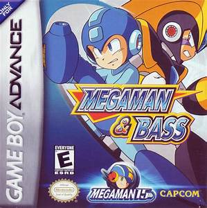 Megaman U0026 Bass Rom Gameboy Advance Gba Emulatorgames