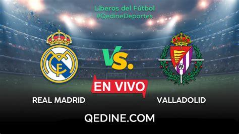Real Madrid vs. Valladolid EN VIVO: Horarios y canales TV ...