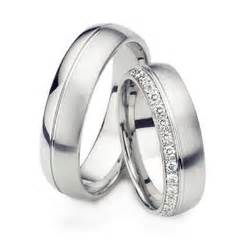His and Her Diamond Wedding Band Set in 14K/18K White Gold HH-1608 6mm