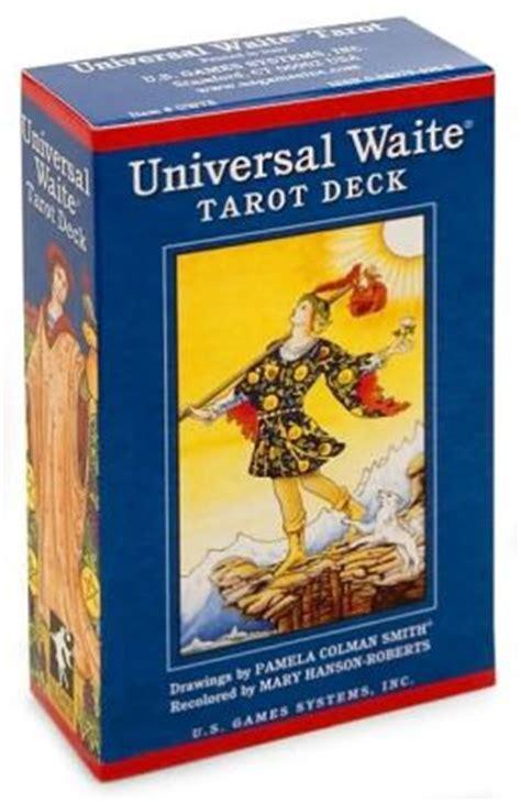 universal waite tarot deck by mary hanson roberts