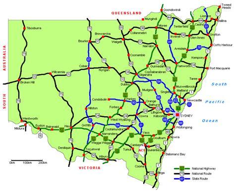 ozroads nsw highways