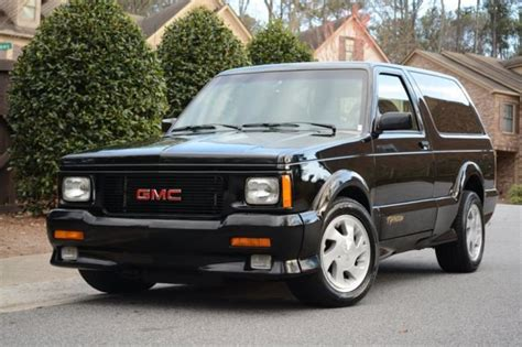 best car repair manuals 1993 gmc jimmy electronic valve timing 1993 gmc jimmy typhoon 25 784 miles black 6 auto for sale photos technical specifications