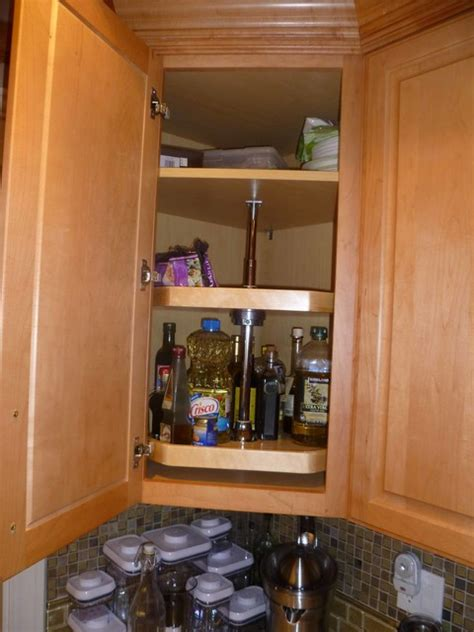 lazy susan for kitchen corner cabinet lazy susan corner cabinet organizer traditional