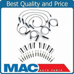 Durango Pickup Ram 1500  2500  3500 Ignition Wires Spark Plugs And Coil Boots 5 7l