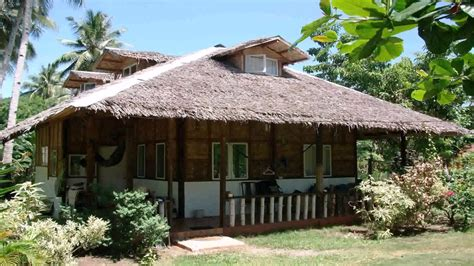 nipa hut house design in the philippines youtube