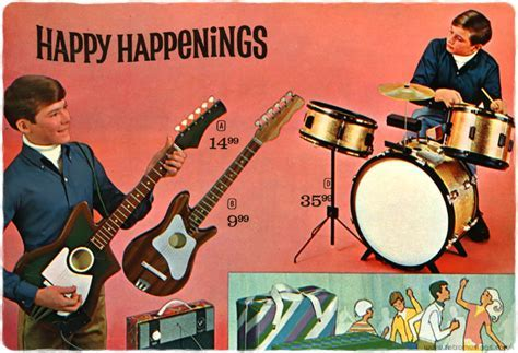 Musical Instruments in Catalogues [1960?s to 1990?s