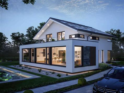 Moderne Häuser Mit Krüppelwalmdach by Concept M 210 G 252 Nzburg Haus Living Haus Haus Und