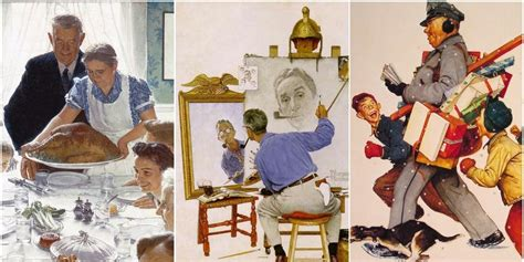 classic norman rockwell paintings   remind