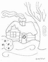 Coloring Cabin Log Truck Cabins Instructions Printable Getdrawings Getcolorings Quilt sketch template